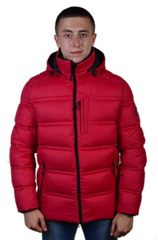 Модель ЗМ 10.19 Красный куртка мужская, зима