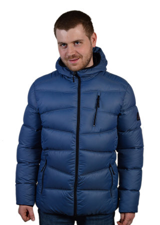 Модель ЗМ 10.20 Серо-голубой куртка, мужская, зима