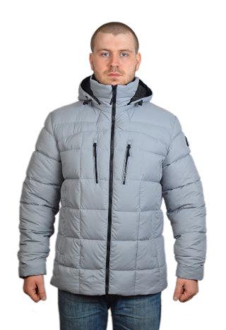 Модель ЗМ10-1 Серый куртка, мужская, зима