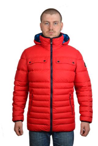 Модель ЗМ 10.25 Красный куртка. мужская. зимняя