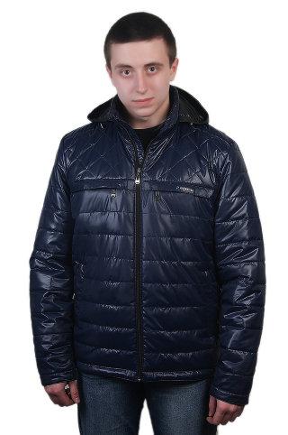 Модель СМ-44 Синий куртка мужская, весна, Riwear, цвет синий