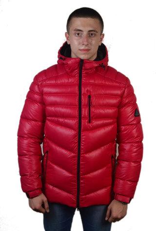Модель ЗМ 10.18 Красный Куртка мужская, зима
